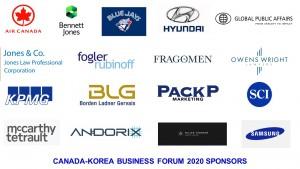 CKBC Forum 2020 Sponsors