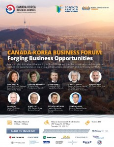 Canada-Korea Business Forum - March 5 2020