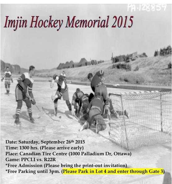 Imjin Hockey Classic 2015